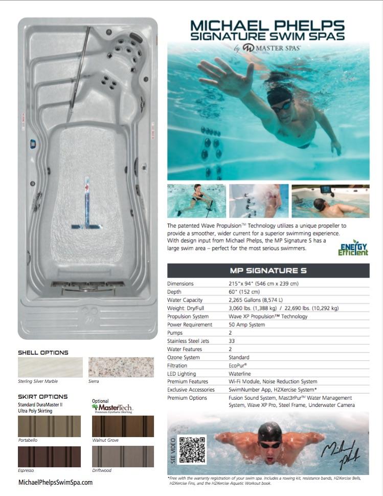 michael phelps swim spa. Black Bedroom Furniture Sets. Home Design Ideas